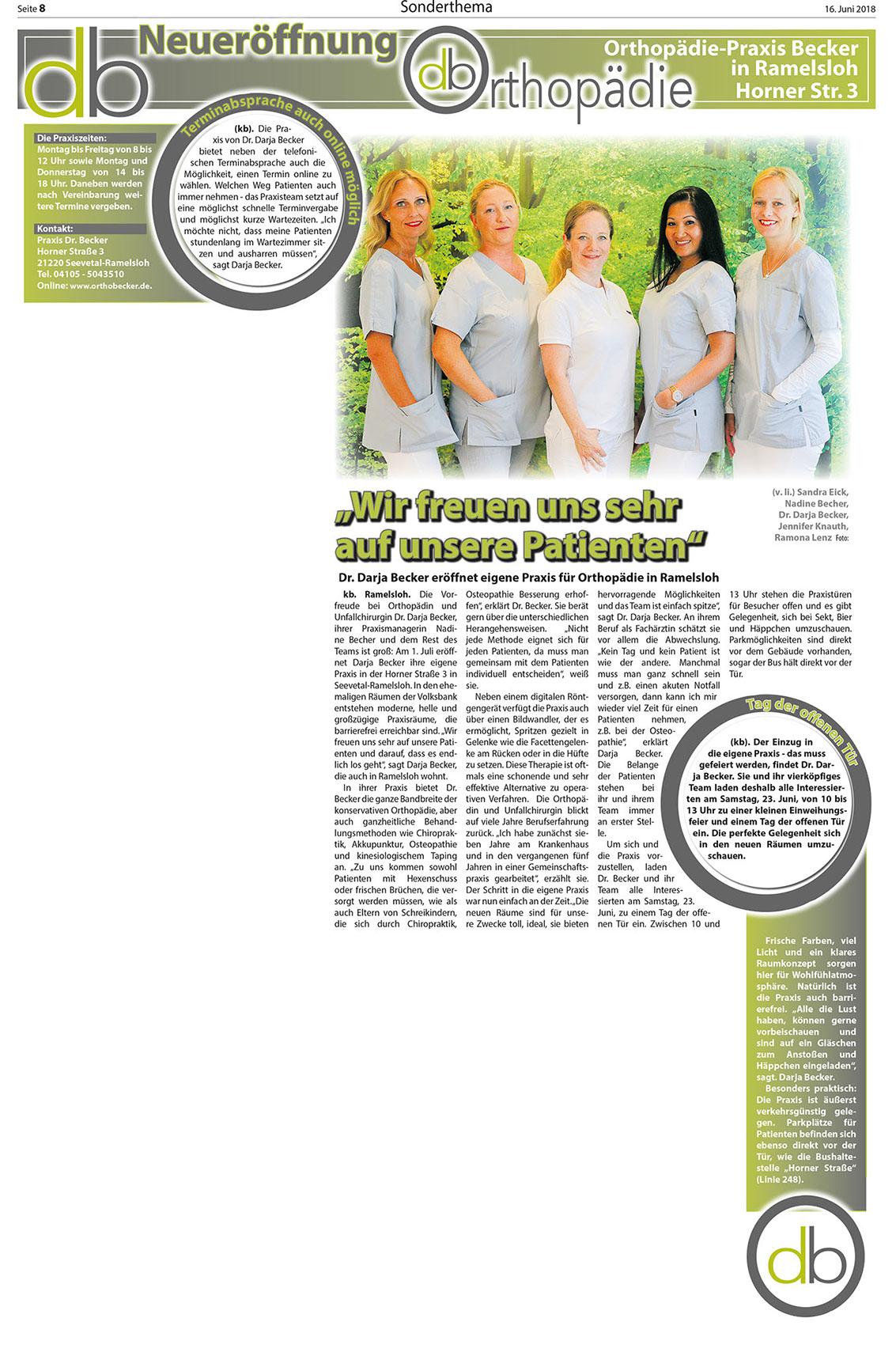 Wochenblatt vom 16.6.2018